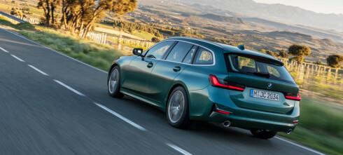 BMWs nye stasjonsvogn blir ladbar