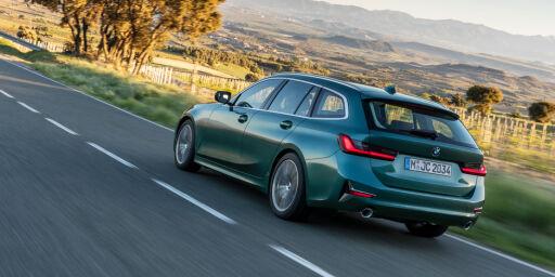 image: BMWs nye stasjonsvogn blir ladbar