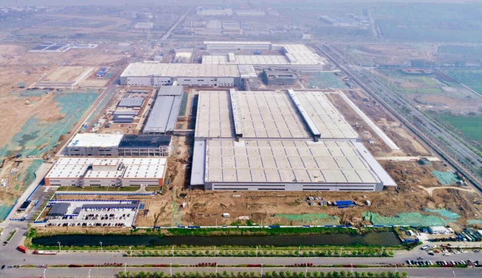 Fabrikkanlegget i Nanjing, Kina