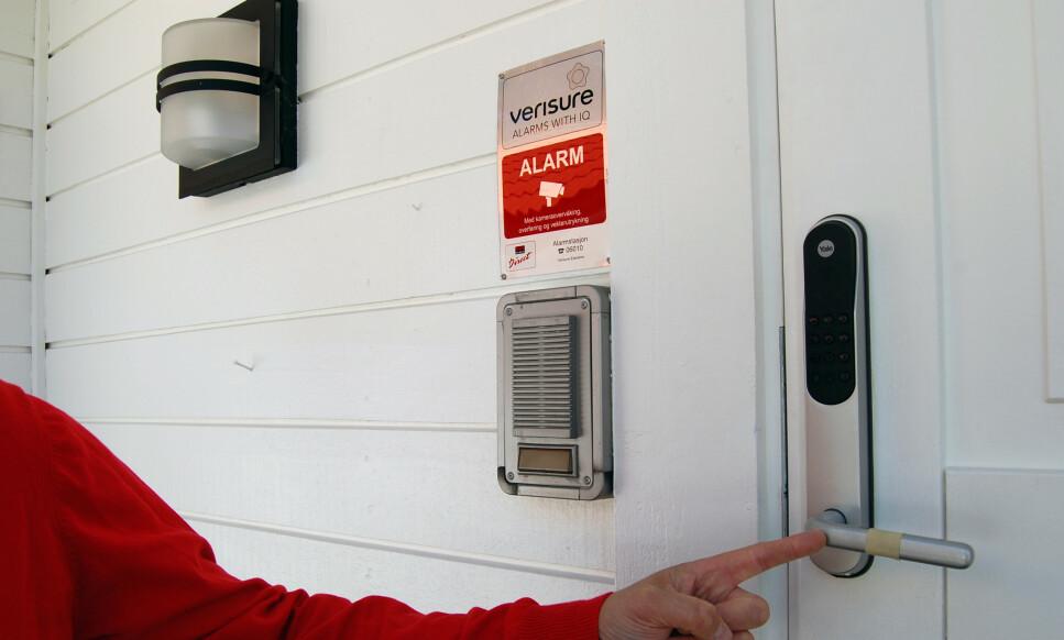 MILLIONGEBYR: Verisure og Sector Alarm har fått varsler om milliongebyr fra Konkurransetilsynet. Foto: Verisure