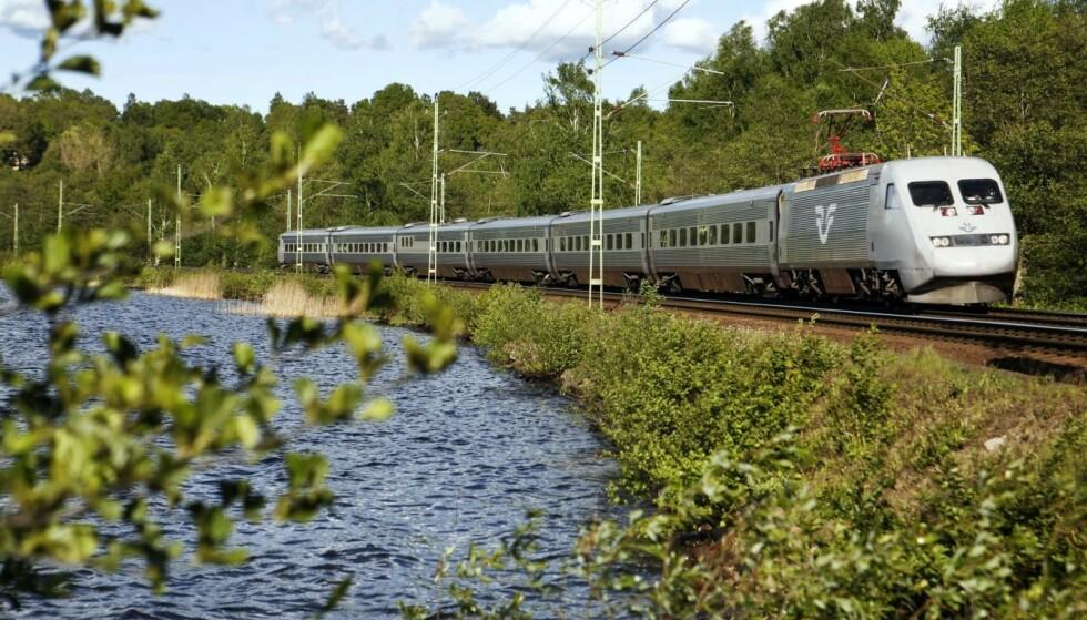 TOG I NORGE: Svenske SJ vant anbudet på syv togstrekninger i Norge. Foto: SJ