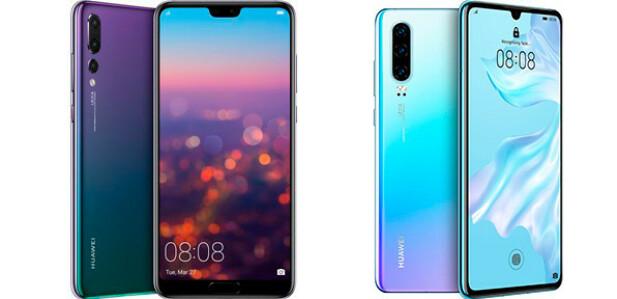 Huawei P20 Pro og P30 Pro