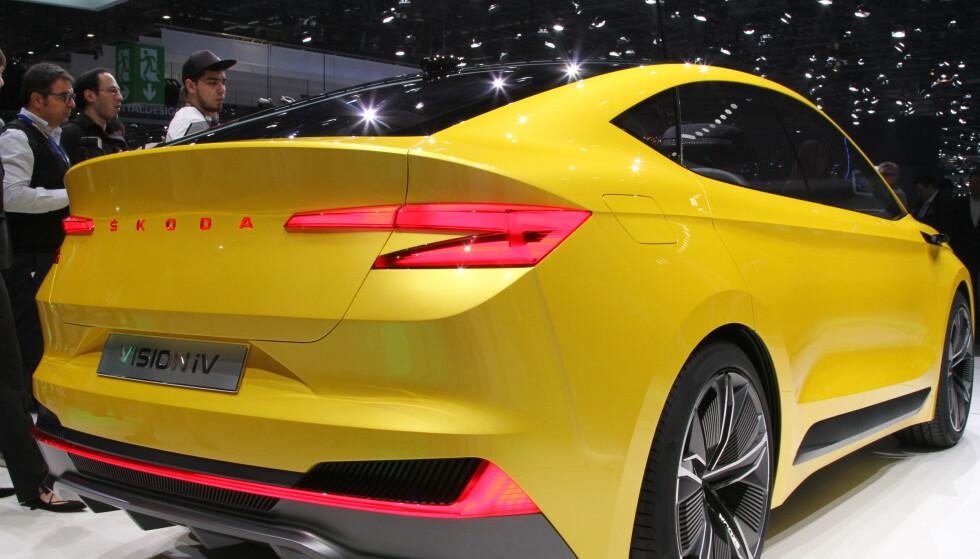 SPORTSLIG: Den ene utgaven av bilen får et sportslig utseende som skiller seg tydelig fra mengden. Foto: Rune Korsvoll