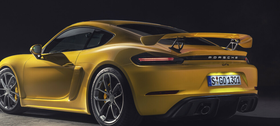 Porsche 718 GT4 og Spyder