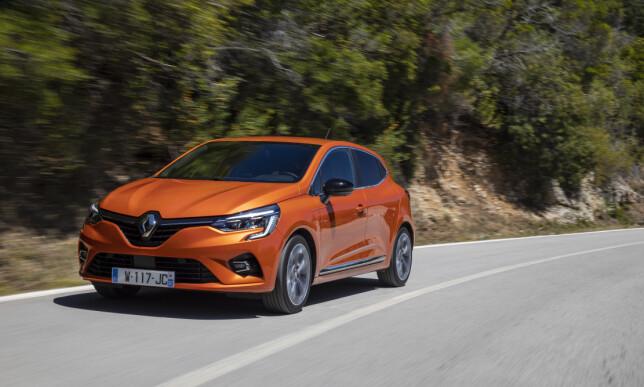LETTKJØRT: På veien gir Clio en helt OK kjøreopplevelse, uten å være klasseledende. Foto: Jean-Brice Lemal