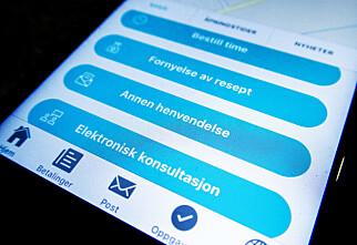 Skal utrede muligheten for sykemelding via e-konsultasjon