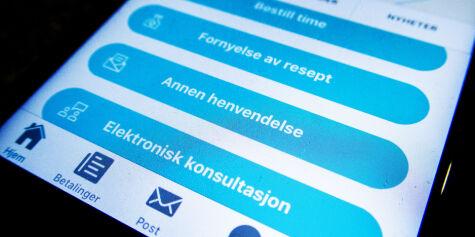 image: Skal utrede muligheten for sykemelding via e-konsultasjon