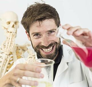 EKSPERT: William Peter Hocking, lektor dr.scient og mikrobiolog ved Metis. Foto: Martin Egset-Linneke / Metis Education.