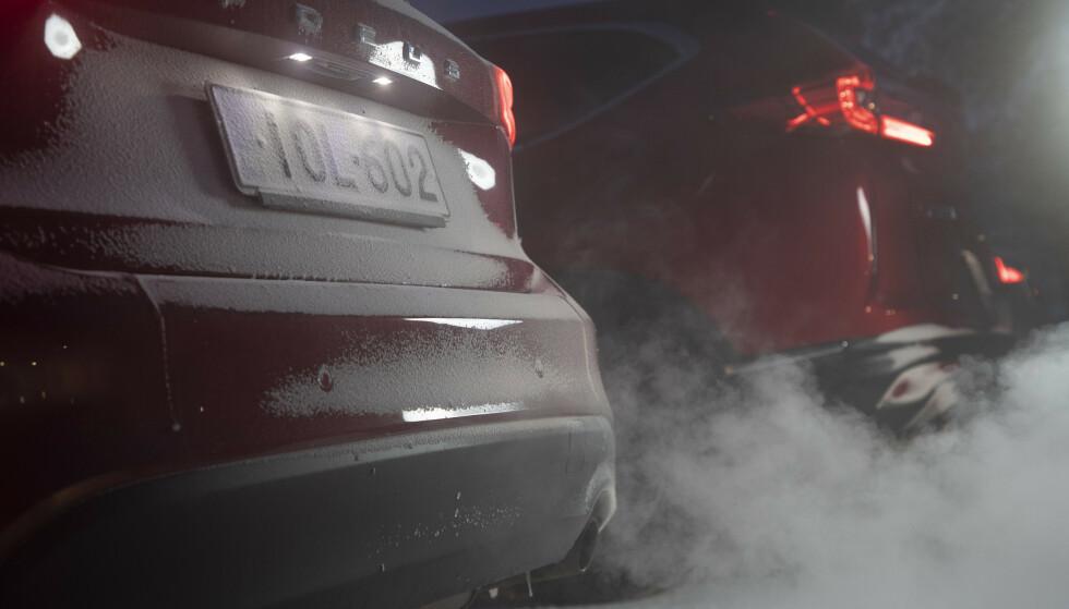 <strong>OPPSIKTSVEKKENDE KUTT:</strong> CO₂-utslippet fra nye biler er kuttet fra 183 til 62 gram per kilometer siden 2001. Foto: Markus Pentikainen