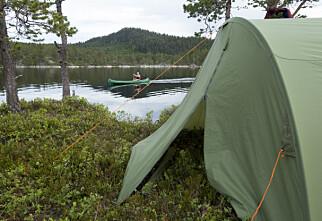 Slik finner du riktig telt