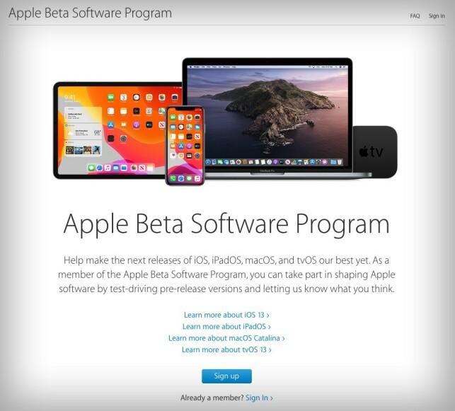 image: Nå kan alle teste iOS 13