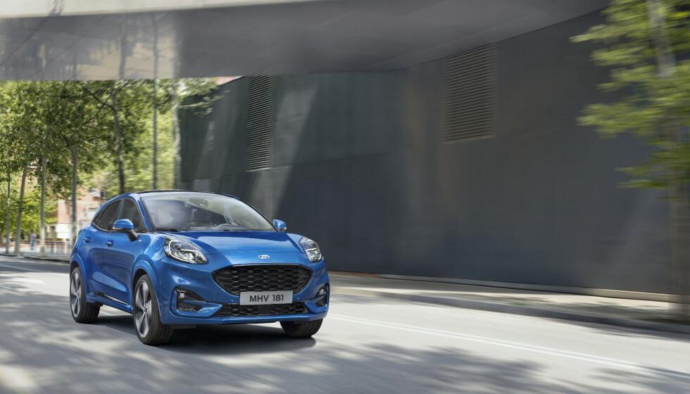 GAMMEL KJENNING: Puma-navnet kjenner vi igjen fra Fords lille kupé-modell som gikk ut av produksjon i 2002. Foto: Ford