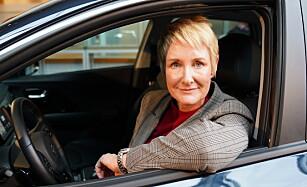 STOLT: Den norske Kia-sjefen Irene Solstad gleder seg stort til den ladbare hybriden kommer. Foto: Kia