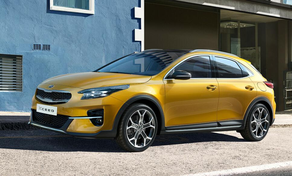 NY KIA-SUV: Xceed er kompakt med 440 cm i lengden - og blir en stilig nykommer. Dessuten: Den blir ladbar! Foto: Kia