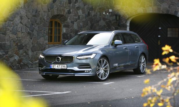 POPULÆR NORGESBIL: Volvo V90 har solgt totalt 7.184 eksemplarer i Norge siden 2017. Foto: Espen Stensrud
