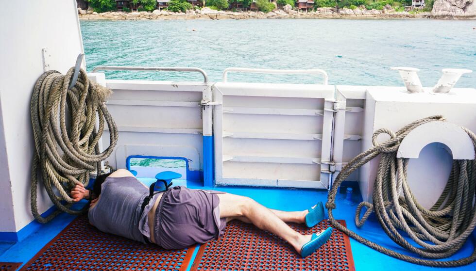 FERIEN SOM FORSVANT: Det er kjipt å bli syk mens du er på ferie. Heldigvis kan du få erstattet de tapte dagene, såfremt du dokumenterer sykedagene riktig. Foto: Shutterstock/NTB Scanpix.