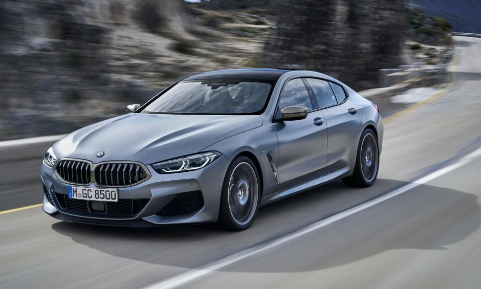 LINJELEKKERT: Her får du både sportsbil, lekker kupé og praktisk bil i ett. Og firehjulsdrift er standard. Foto: BMW