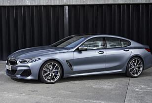 GRAN PRIX: Denne skal ut for å konkurrere med blant andre Mercedes-AMG og Porsche Panamera. Foto: BMW