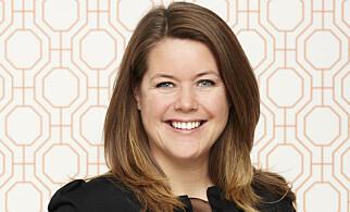 TALE OLIVIA HENNINGSEN: Kreativ leder hos Fargerike. Foto: Fargerike.