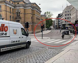 image: Vegtrafikkloven gjelder også for deg på to hjul
