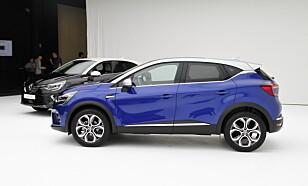 HELT NY: Renault Captur er helt ny når den kommer på det norske markedet i 2020. Foto: Fred Magne Skillebæk