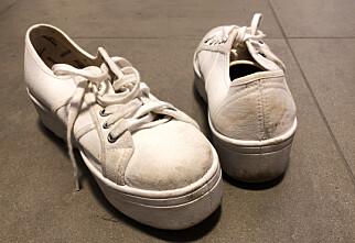 Slik ble sneakersene kritthvite igjen