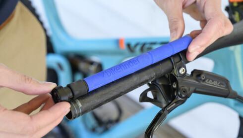Her ser du lengden på BikeFinder. Foto: Jamieson Pothecary