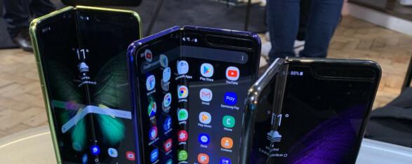 Samsung Galaxy Fold: Snart klart for lansering