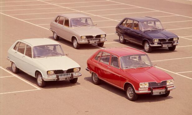 RENAULT: En flott samling franske klassikere. Foto: Renault