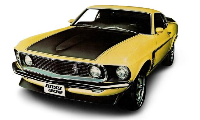 HELT SJEF: 1969 og 1970 Mustang Boss 302.