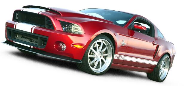 GIKK BERSERK: Ford 2013 Shelby GT500 Super Snake.