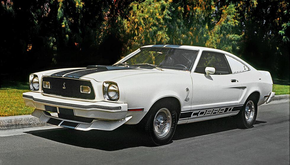 KONGESLANGE: 1976-1978 Mustang II Cobra II, King Kobra.