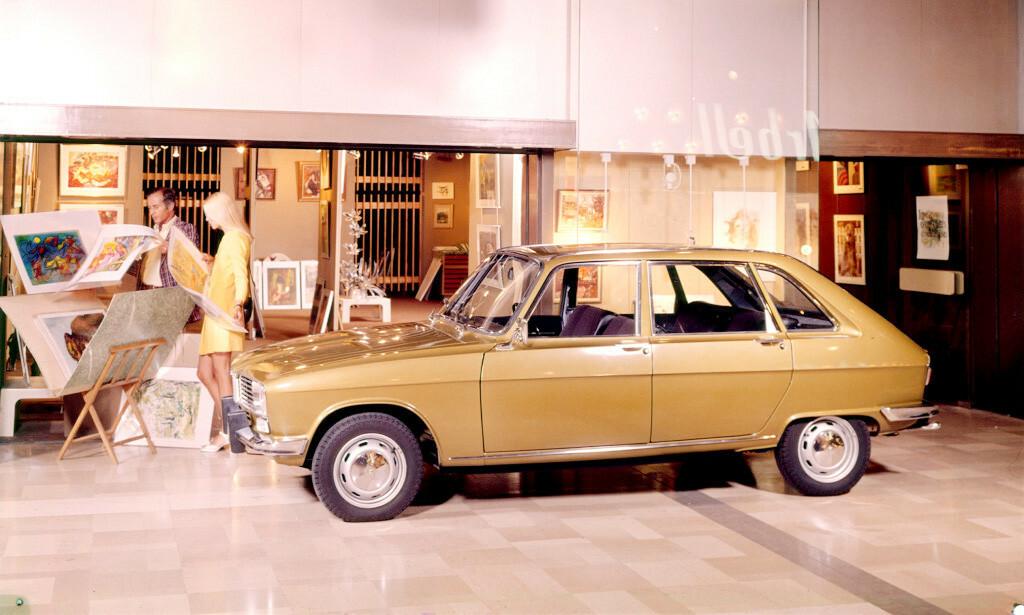 KLASSIKER: Renault 16 har solgt i bøtter og spann siden den ble lansert i 1964. Foto: Renault