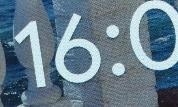 SKARP: Skjermen på Lenovo Smart Hub har full HD-oppløsning, og fordelt på en ti-tommers skjerm gir det meget god skarphet. Foto: Pål Joakim Pollen