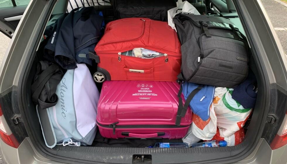 <strong>PASS PÅ:</strong> Skal du utenlands i sommer, er det visse ting du ikke bør ha i bagasjen når du skal hjem igjen. Foto: Bjørn Eirik Loftås