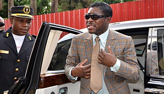 KORRUPSJONSDØMT: VIsepresident Teodoro Nguema Obiang Mangue. Foto: AFP