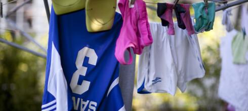 Er det ulovlig å henge ut klær til tørk på en søndag?
