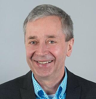 HYTTEEKSPERT: Bjørn-Erik Øye i Prognosesenteret. Foto: Prognosesenteret