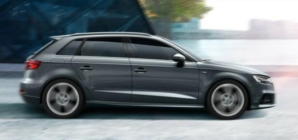 DROPPER TRE DØRER: Audi A3 Sportback. Foto: Audi