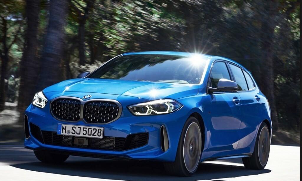 FOR- OG FIREHJULSDRIFT: BMW 1-serie. Foto: BMW