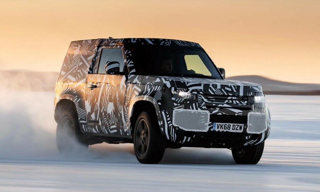 LEGENDE: Land Rover Defender. Foto: Land Rover