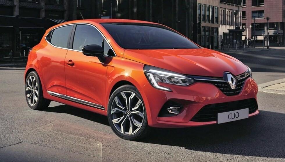 MEST SPENNENDE SOM HYBRID: Renault Clio. Foto: Renault