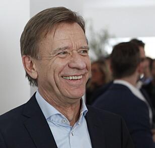STORFORNØYD: Volvo-sjef Håkan Samuelsson har i første halvår av 2019 solgt flere biler i verden enn noen gang tidligere. Foto: Øystein B. Fossum