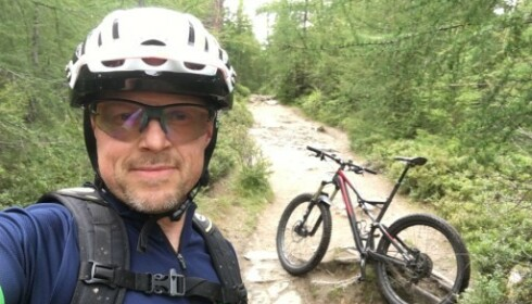 Sykkelekspert Morten Karlsen har tidligere fortalt Dinside at han ikke har tid til å fikse bremsene selv, og oppsøker helst et sykkelverksted i stedet. Foto: Privat