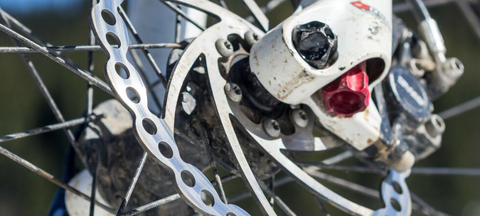 Slik fikser du sykkelbremsene