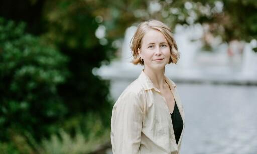POSITIV: Anja Bakken Riise mener arrangementet er et godt tiltak, men synes det er dumt at Bergans ennå bruker miljøgifter i klærne. Foto: Framtiden i våre hender