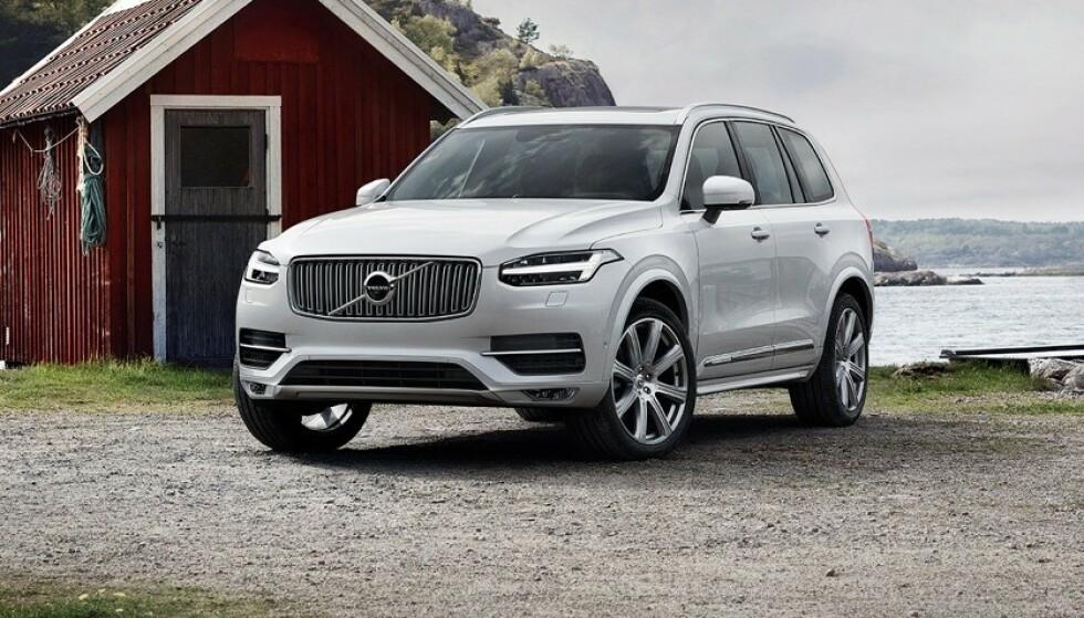 9.200 NORSKE: Litt over 9.000 norske biler er berørt – inkludert XC90. Foto: Volvo