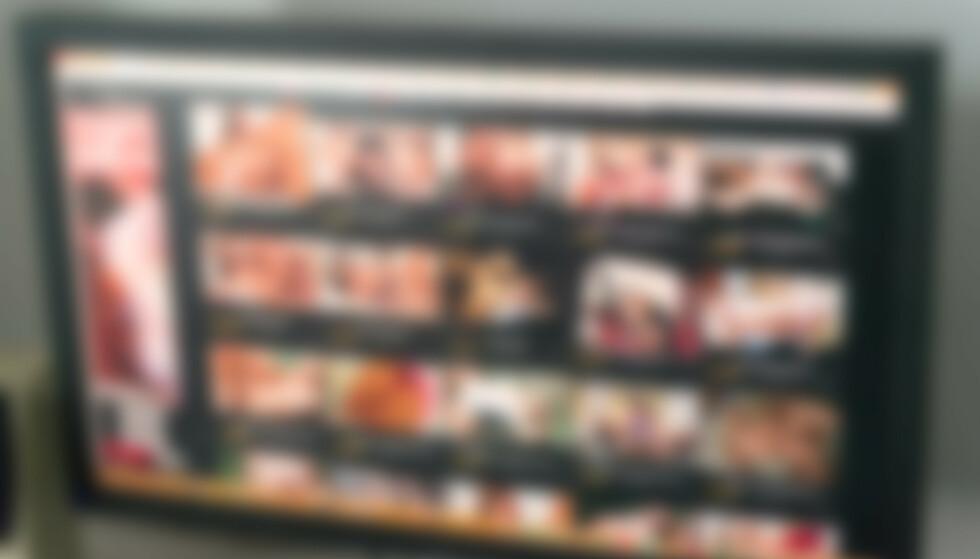 PORNOLEKKASJE: I en fersk studie kommer det frem at Google og Facebook har sporingsfunksjoner på brorparten av pornonettstedene som ble undersøkt. Foto: Shutterstock