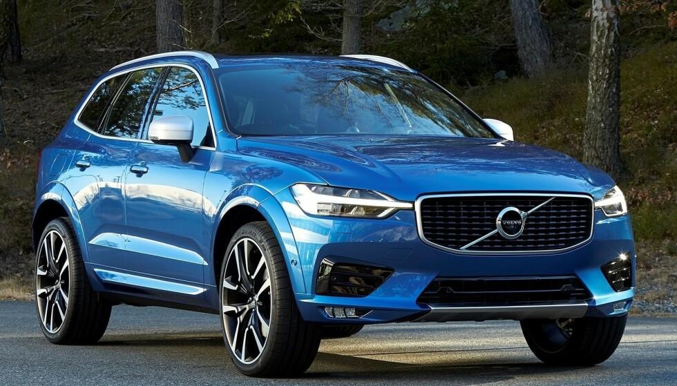 BESTSELGER: Volvo XC60 er svenskenes mestselgende bil både i Norge og i verden generelt. Bilprodusenten trekker fram SUV-ene som begrunnelse for at de i første halvår har solgt flere biler enn noen gang før. Foto: Volvo
