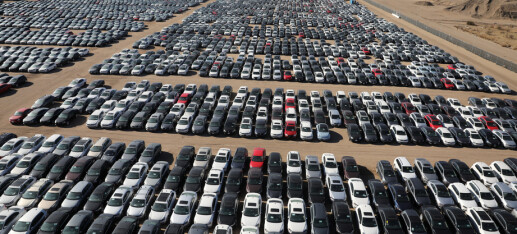 Her står VWs skandale-biler